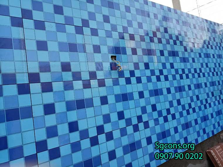 Op Gach Mosaic Cho Ho Boi