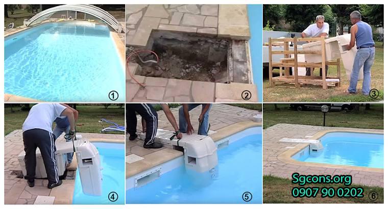 công nghệ xử lý lọc nước bể bơi tốt