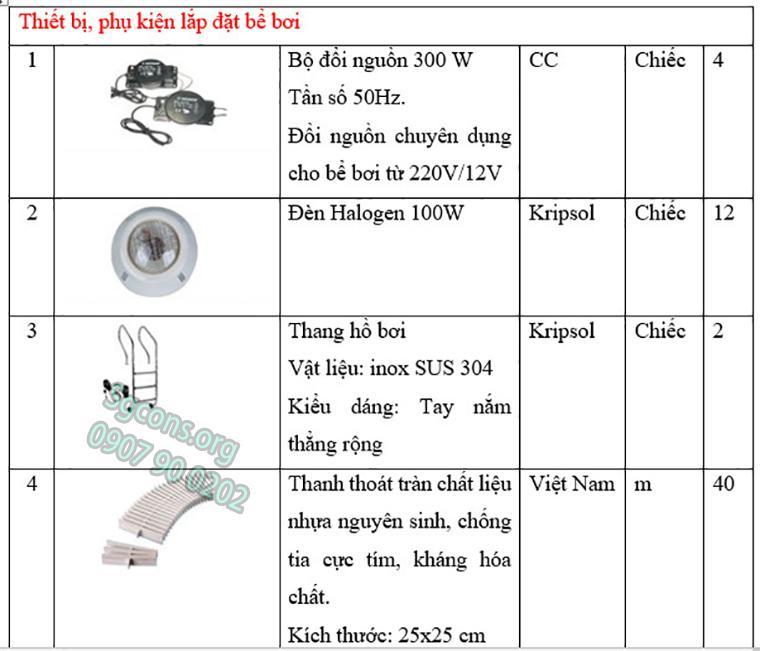 Thiet Bi Phu Kien Be Boi