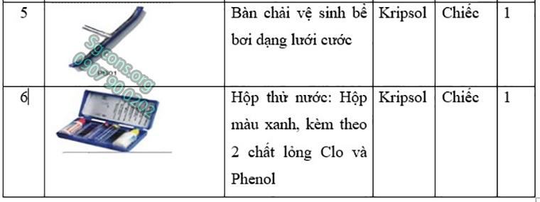 Thiet Bi Ve Sinh Chuyen Dung Ho Boi